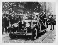1929 Packard in parade for Admiral Richard E. Byrd