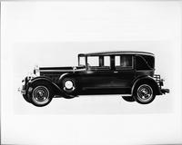 1929 Packard sedan limousine, right side view