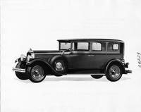 1929 Packard sedan limousine, nine-tenths right front view