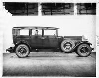 "1929 Packard sedan, special ""Peter Jones observation car"""