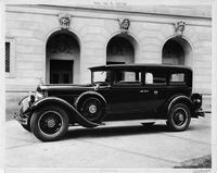 1929 Packard sedan limousine, nine-tenths left front view