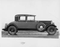 1929 Packard coupe, right side view
