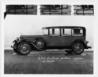 1929 Packard sedan, left side view