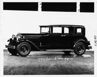 1930 Packard sedan, nine-tenths left front view