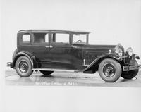 1930 Packard sedan, nine-tenths right front view