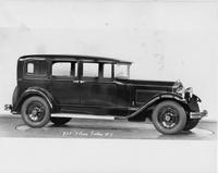 1931 Packard sedan, nine-tenths right side view