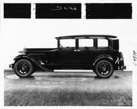 1931 Packard sedan, left side view