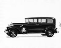 1931 Packard sedan limousine, nine-tenths left side view