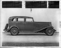 1933 Packard sedan, right side view