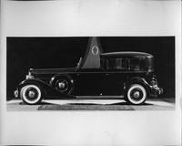 1933 Packard all weather town car, left side view