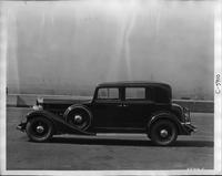 1933 Packard club sedan, left side view