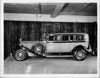 1933 Packard special bullet-proof sedan limousine for president of Dominican Republic