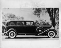 1934 Packard sedan, right side view