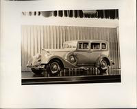 1934 Packard sedan, three-quarter left front view