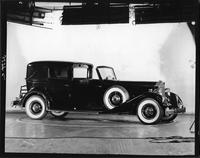 1934 Packard all weather cabriolet, nine-tenths right side view
