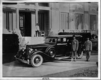 1934 Packard sedan limousine, owner Prime Minister of Egypt at passenger door
