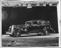 1935 Packard sedan, nine-tenths left side view
