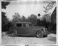 1935 Packard club sedan at Alvan Macauley residence