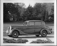 1935 Packard club sedan in Grosse Pointe, Mich.