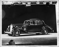 1935 Packard coupe, seven-eights left side view