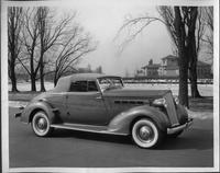 1935 Packard convertible coupe at Belle Isle, Detroit, Mich.