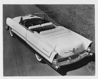 1956 Packard convertible, three-quarter rear right elevation view, top folded