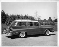 1958 Packard station wagon, seven-eights rear right view