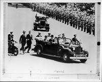 1939 Packard in official reception parade for King George VI & Queen Elizabeth in Washington, D.C.