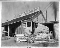 1916-17 Packard truck, at the Detroit Creamery