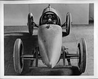 1923 Packard race car, view from rear