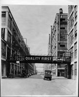 "Packard factory avenue ""Quality First"""