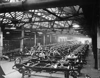 Packard chassis assembly room, 1923-24