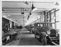 Packard assembly line, 1927