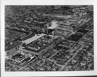 Packard factory 1937, aerial view