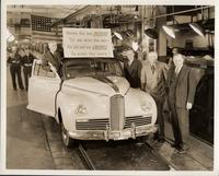 The  last Packard to leave the line in 1942