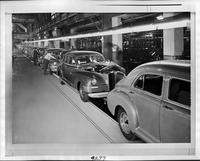 1946 Packard final assembly line