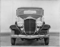 1932 Packard prototype sedan, front view