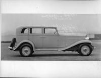 1932 Packard prototype sedan, right side view