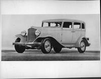 1932 Packard prototype sedan, three-quarter front left view