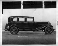 1932 Packard prototype sedan limousine, right side view