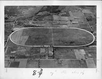 Aerial view of the Packard proving grounds