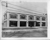Packard dealership, Bridgeport, Conn., 1928