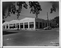 Packard dealership, Tulsa, Okla., 1937