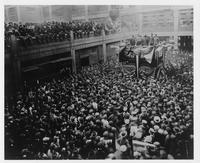 Liberty Loan Rally at Dodge Brothers during World War I