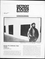 Detroit Focus Quarterly 1(1) (January 1982)