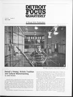 Detroit Focus Quarterly Volume 3 Number 1