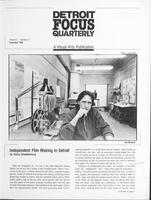 Detroit Focus Quarterly Volume 5 Number 4