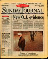 The Detroit Sunday Journal:: February 25, 1996