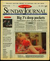 The Detroit Sunday Journal:: September 8-14, 1996