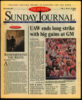 The Detroit Sunday Journal:: July 20-26, 1997